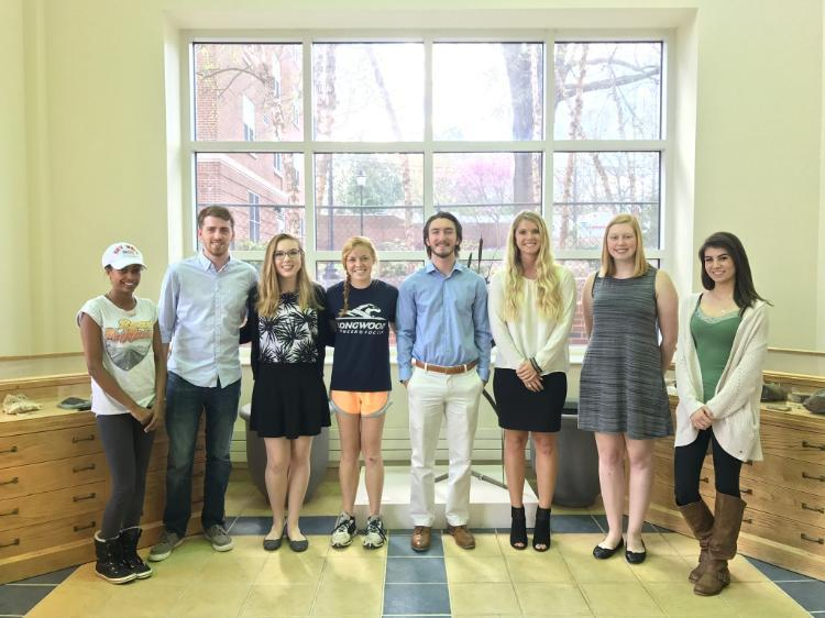 The 2017 Student Award and Scholarship winners in Biological and Environmental Sciences