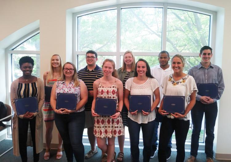 2019 BIES Scholarship Winners