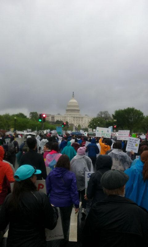 March For Science in Washington DC - 22 March 2017