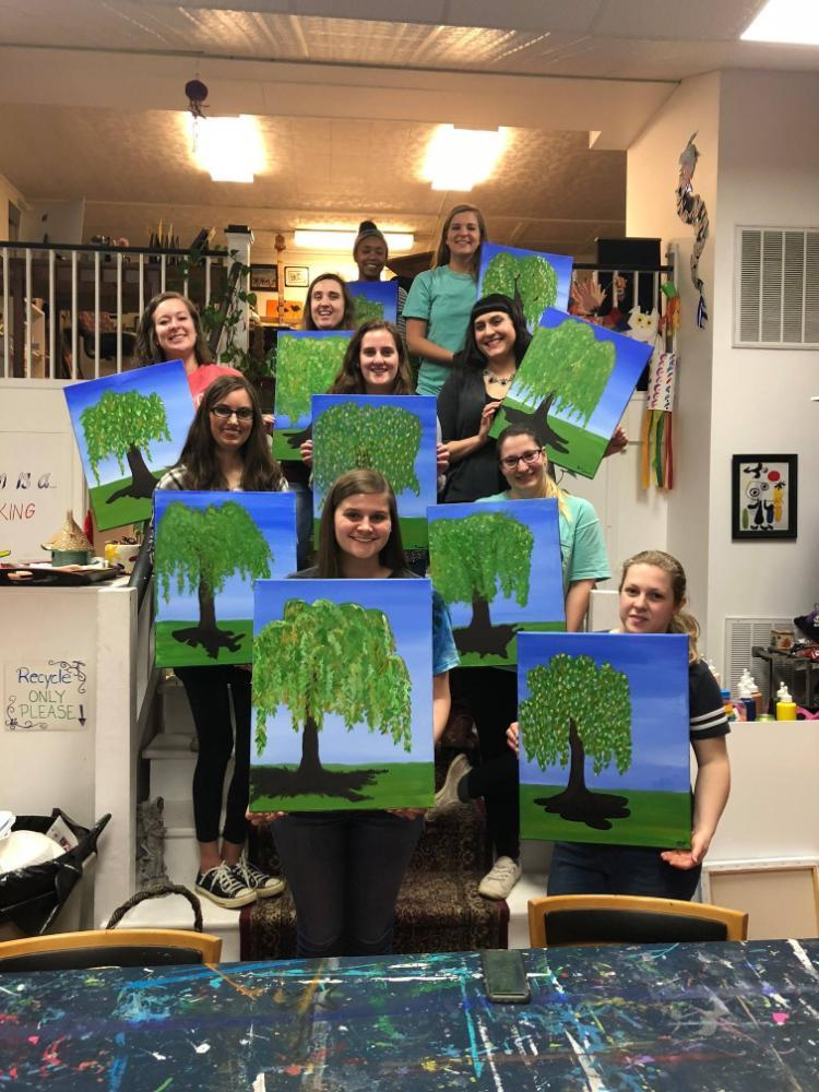 GSA Paint Night 2018