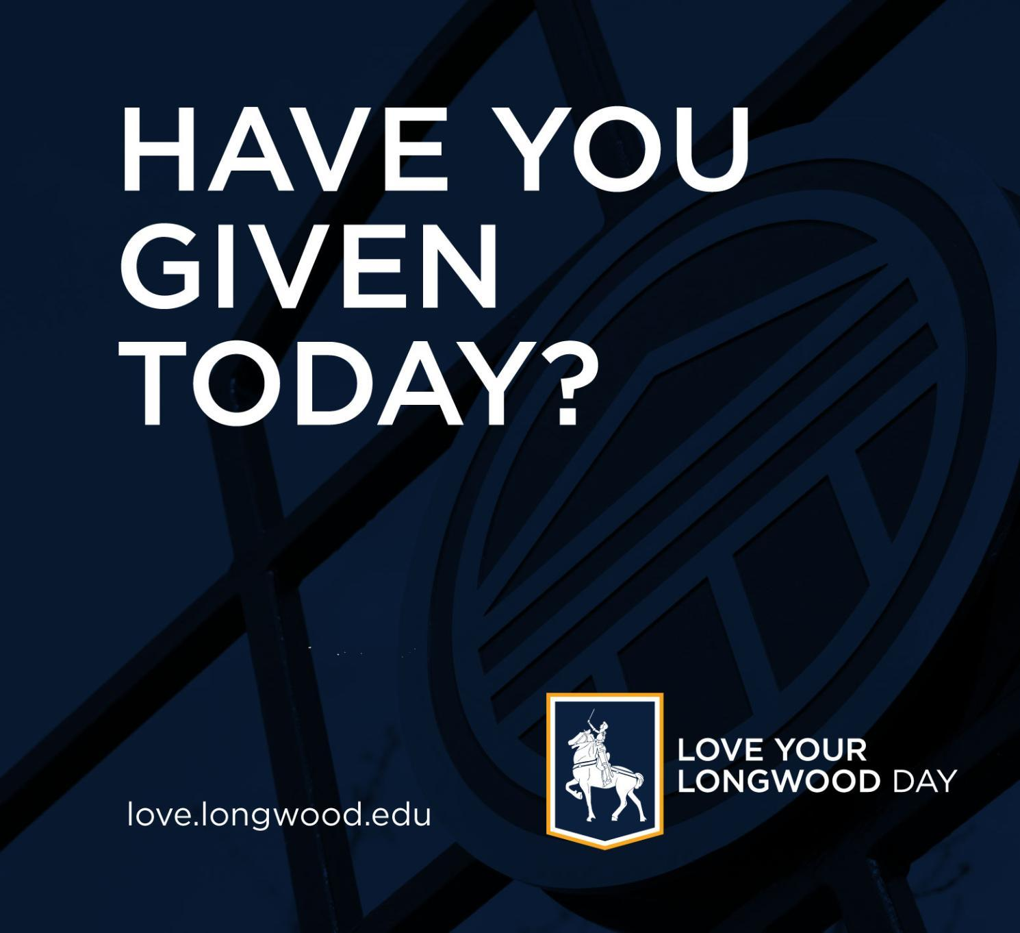 Have You Given Today? Graphic