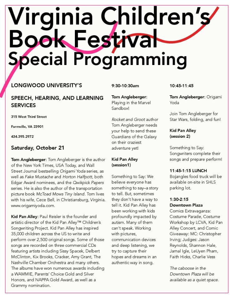 Virginia Children's Book Festival 2017